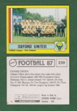 Oxford United Team 239
